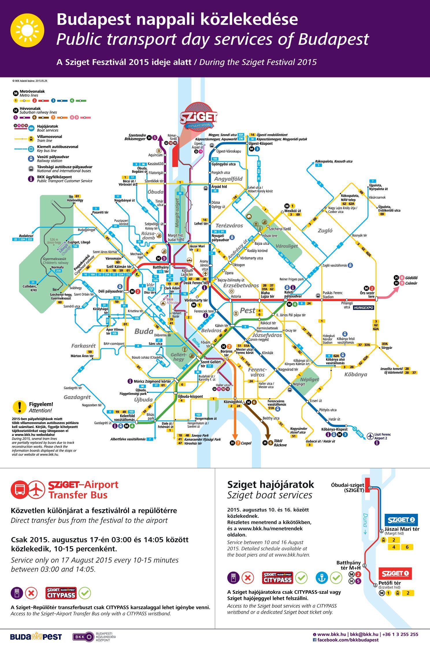 Bkk Budapest Kartta Budapest Raitiovaunu Kartta Unkari